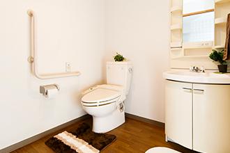 サービス付高齢者向け住宅 万葉のさと梶ヶ谷 洗面トイレ